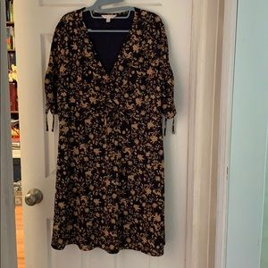 Lauren Conrad short sleeve dress